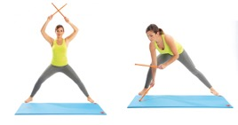 Stage : Fit sticks – Abdo-training – Stretching